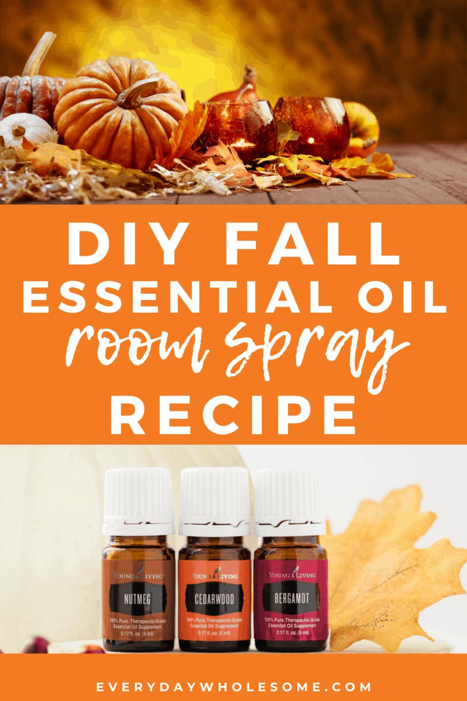 diy essential oil room spray recipe
