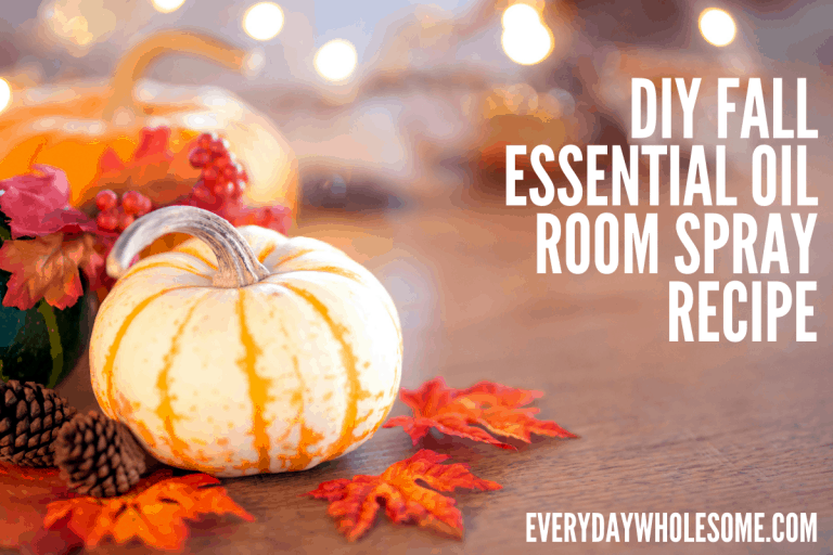 DIY Fall Room Spray Recipes | Essential Oils for Autumn & Holiday