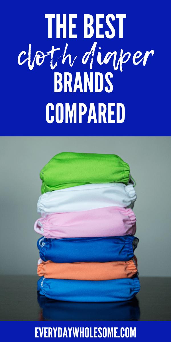 BEST CLOTH DIAPER BAMBOO BRANDS COMPARED