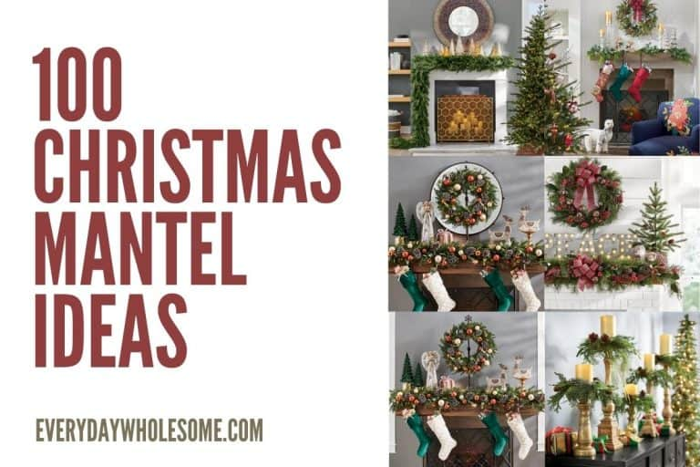 100 Best Christmas & Holiday Fireplace Mantle Decor Ideas