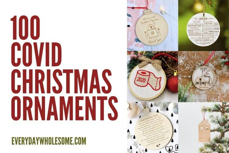 100 Best Covid, Mask & Quarantine Christmas Tree Ornaments | Gift Guide 2020