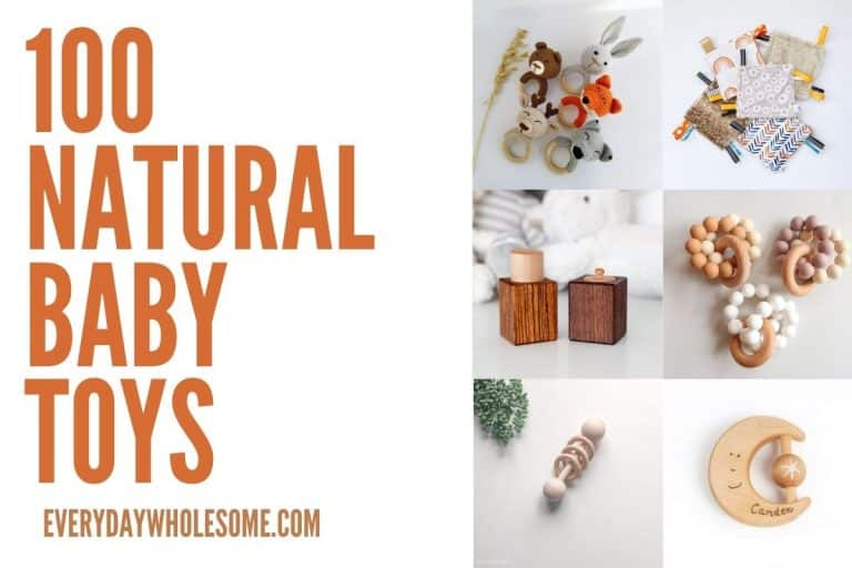 100 Natural Non-toxic Baby Toys & Gifts