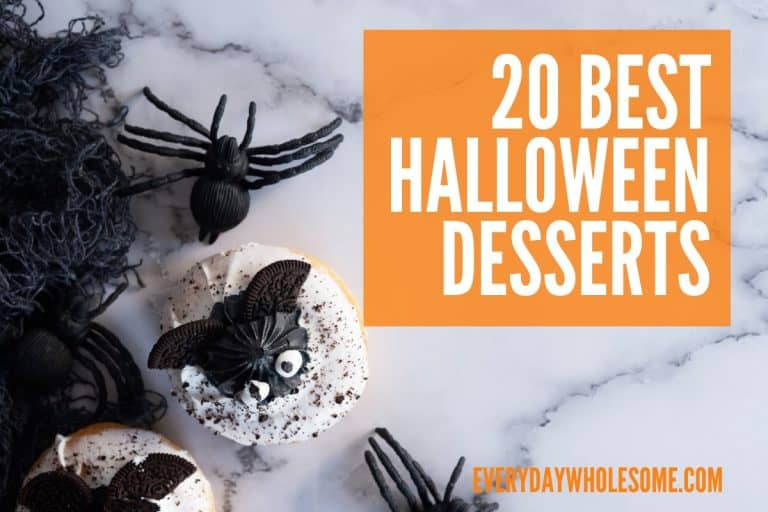 20 Best Halloween Dessert Recipes