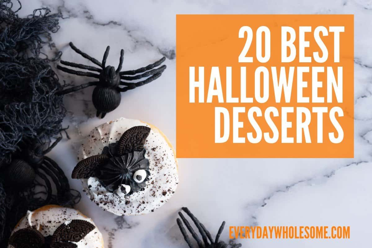 20 BEST HALLOWEEN DESSERTS FEATURED