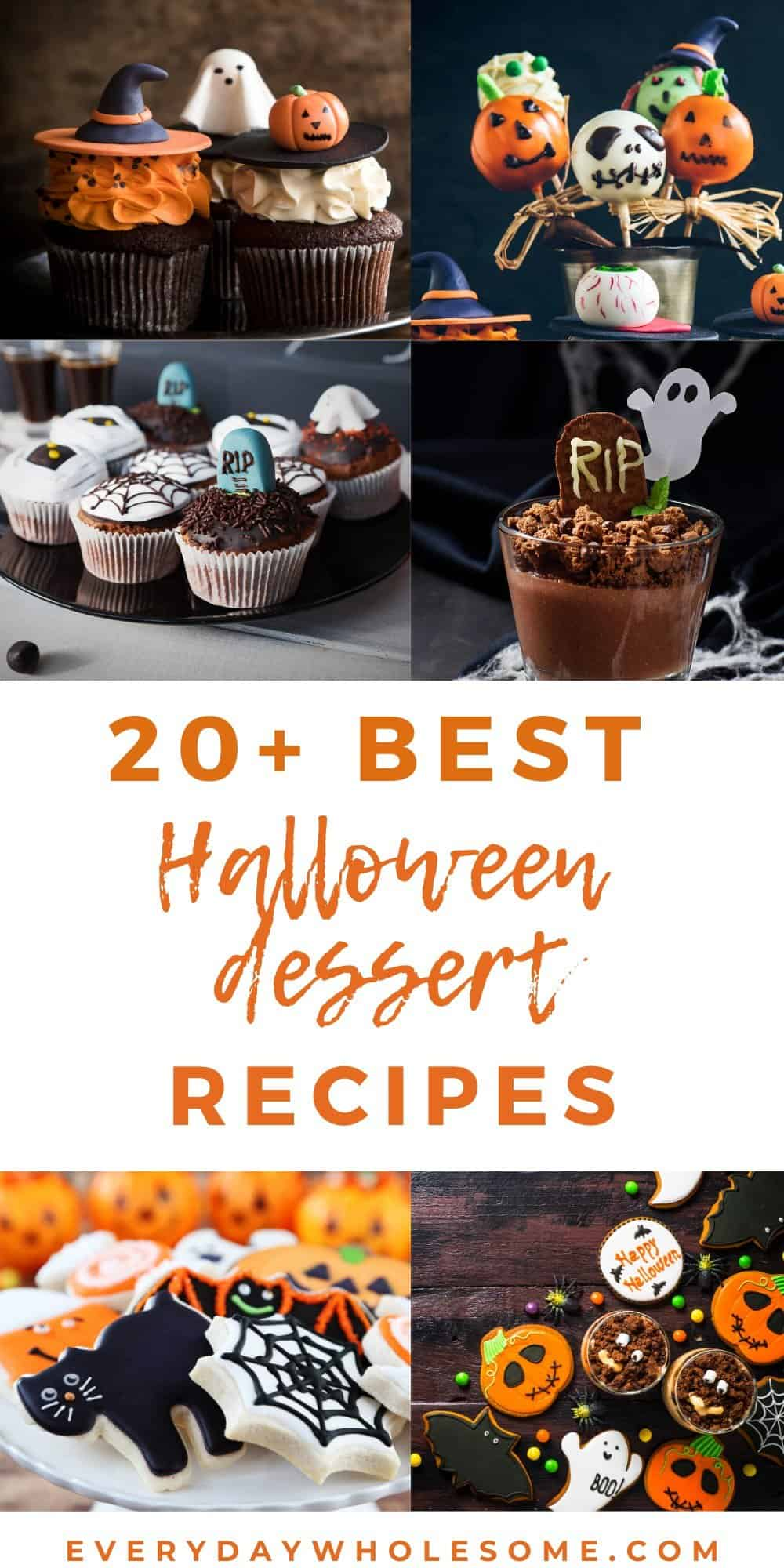 20 best halloween dessert recipes of all time