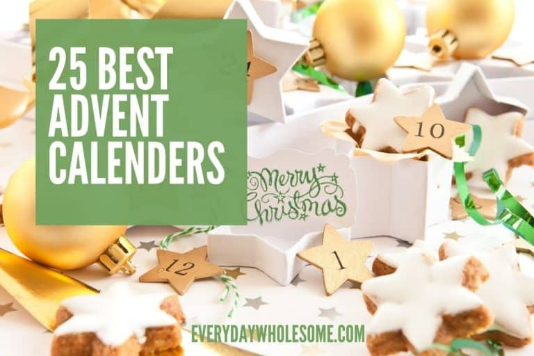 25 Advent Calendars for Christmas & Holiday Gift Guide