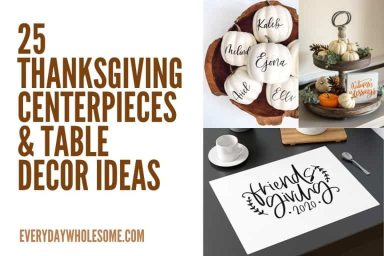 100 Best Thanksgiving Fall Table Centerpiece & Decorations