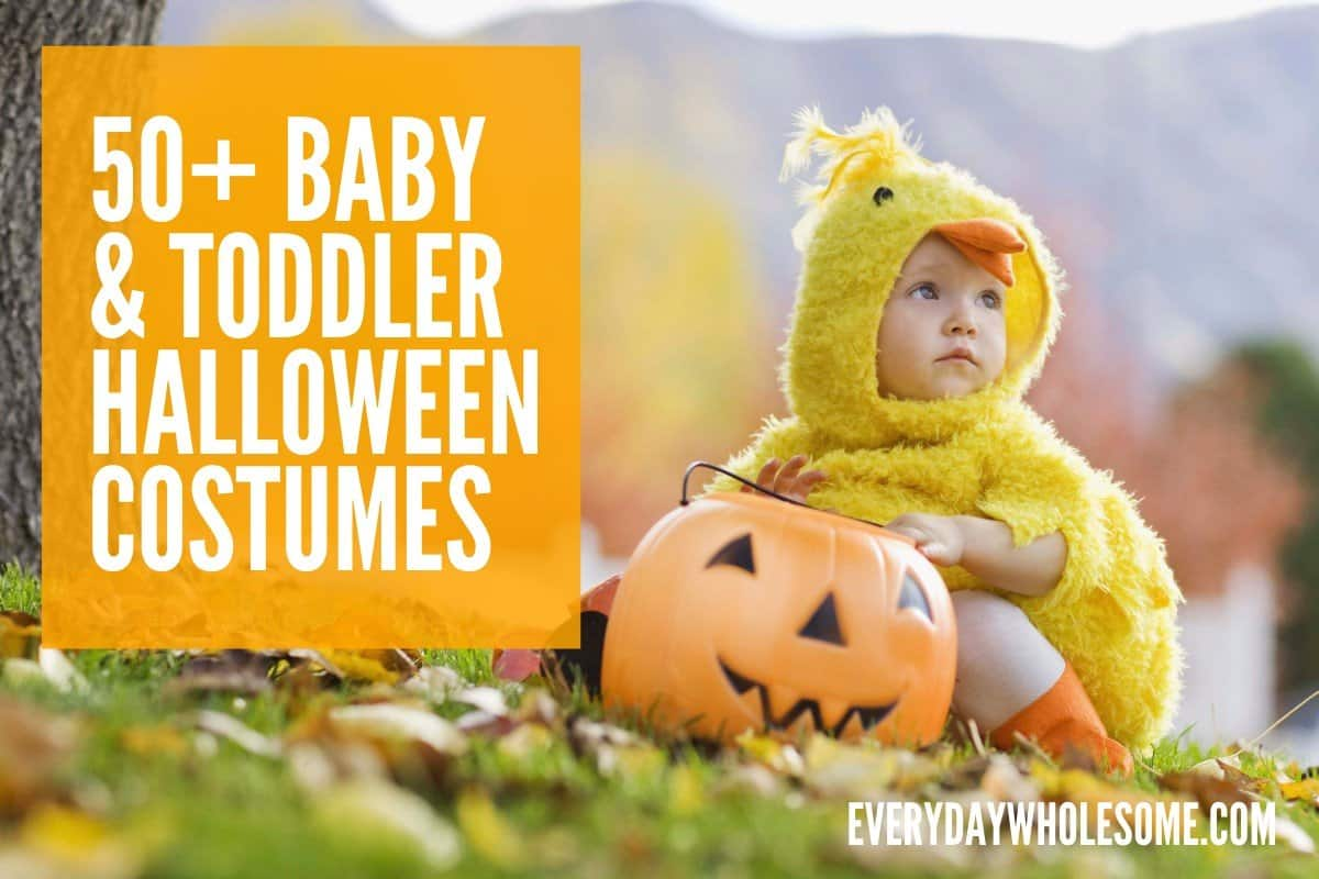 50+ BABY TODDLER HALLOWEN COSTUMES