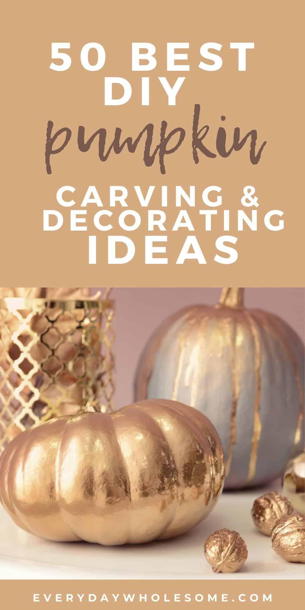 50 best diy pumpkin projects crafts
