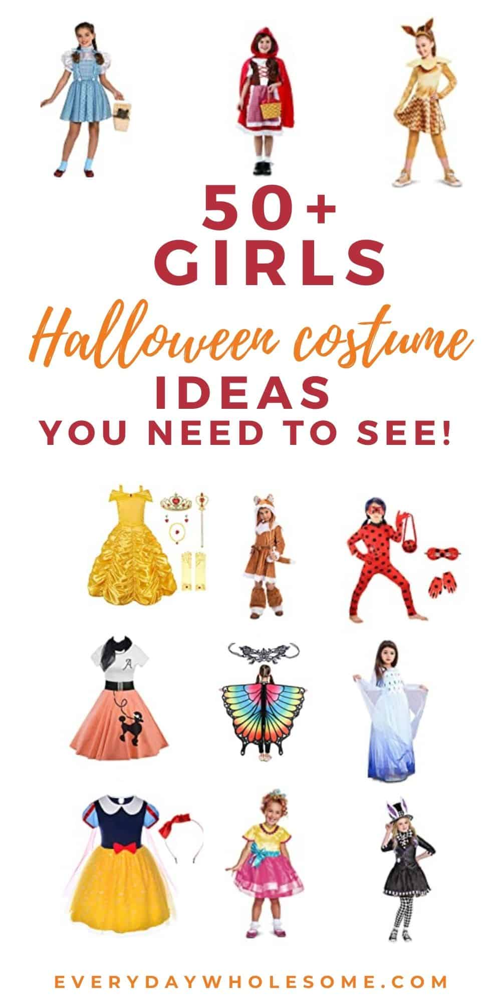 50+ girls child halloewen costume ideas