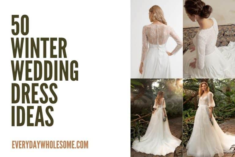 50 Winter Wedding Dress & Bridal Gown Ideas