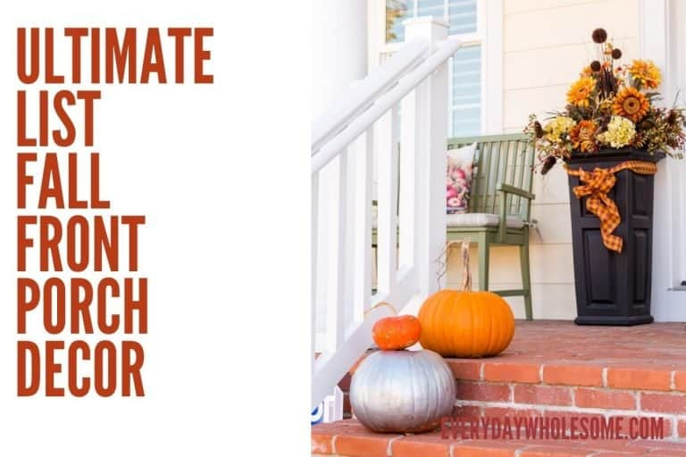 30 Best Fall Front Porch Decor Ideas