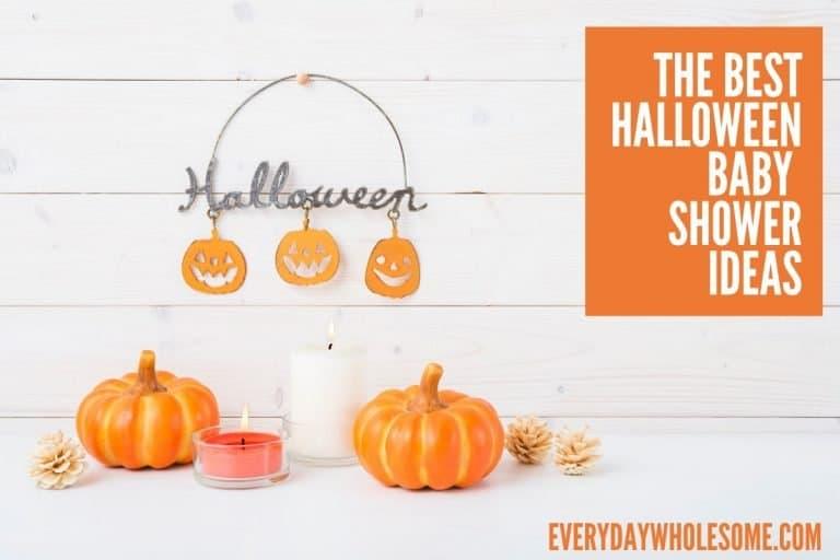 The Best Halloween & Fall Baby Shower Ideas