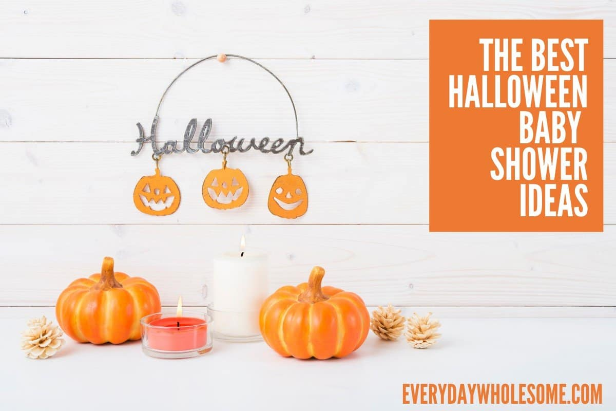 best halloween baby shower ideas featured