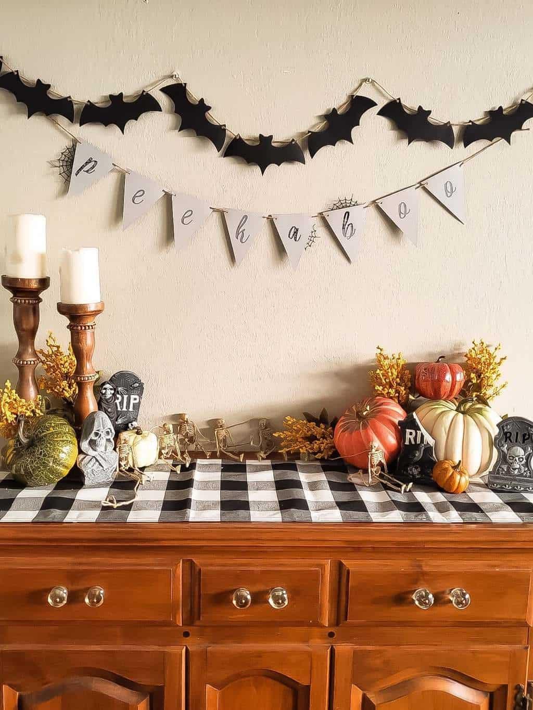 halloween baby shower decorations