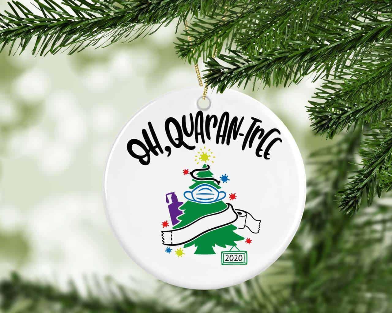 Christmas Ornament Quarantee Ornament 2020 Christmas Quarantine Memories Covid Ornament Covid Ornament 2020 ornament
