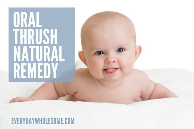 Natural Remedy for Oral Thrush for Newborns, Babies & Adults
