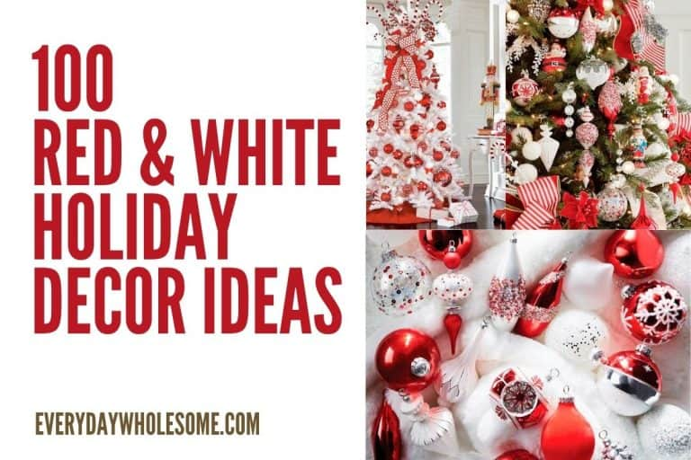100 Best Red & White Christmas Decor Ideas