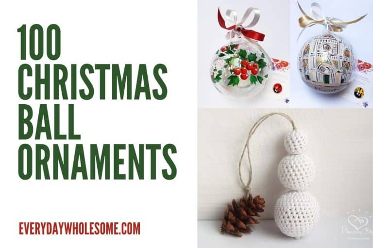 100 Best Elegant Ball Christmas Tree Ornaments – Gift Guide