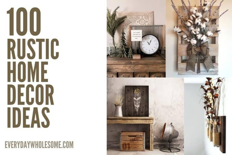 100 Best Rustic Home Decor Ideas