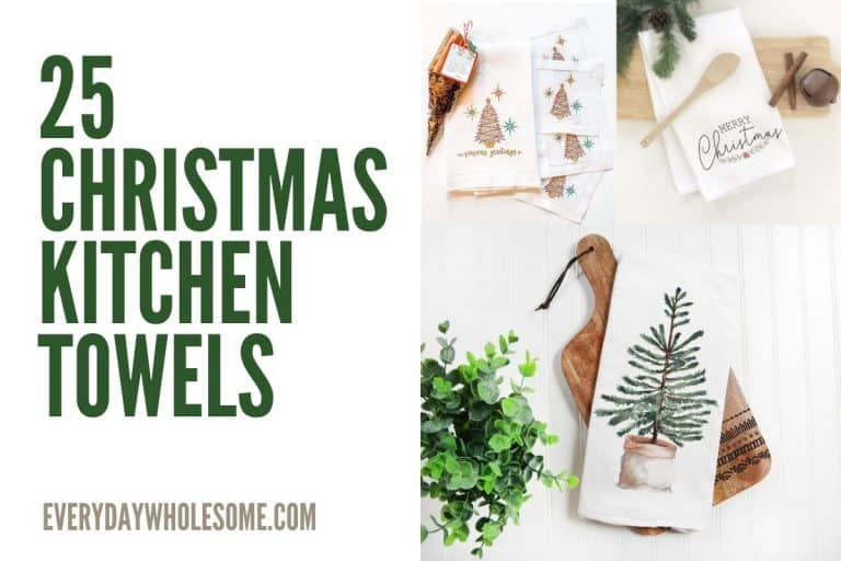 25 Christmas & Holiday Kitchen Towels