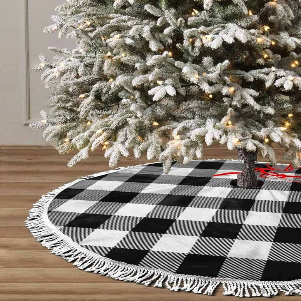 Everyday Wholesome 100 Best Black White Buffalo Plaid Christmas Decorations