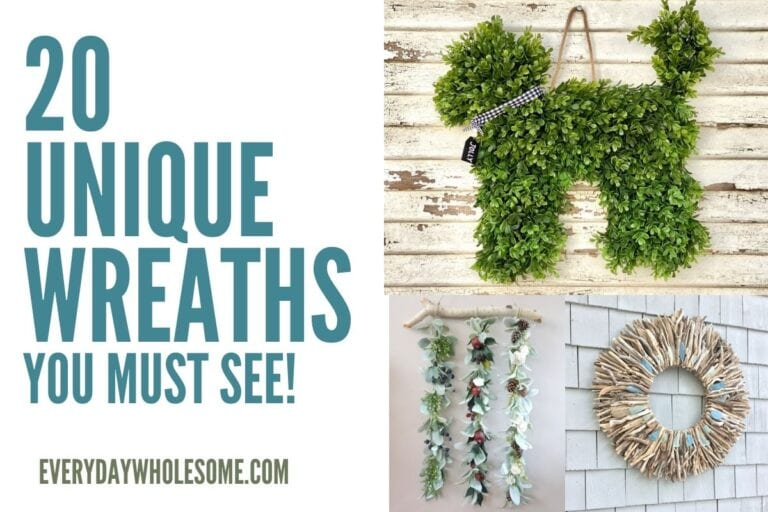 20 Unique & Modern Wreaths You Have To See