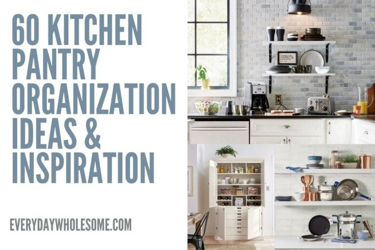 60 Kitchen & Pantry Organization Ideas & Inspiration