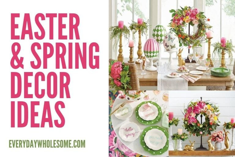 50 Easter & Spring Decorating Ideas