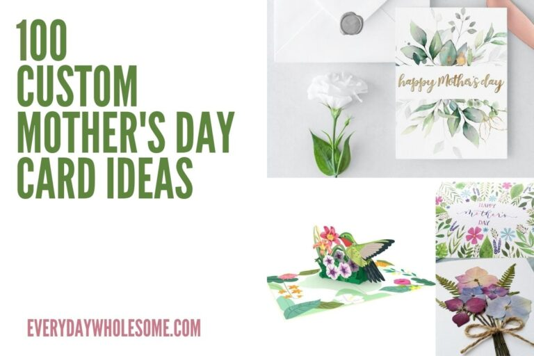 100 Custom Mother's Day Cards | Pop Ups, Printable, Digitals, Online