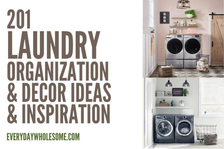 201 Laundry Organization & Home Decor Ideas & Inspiration