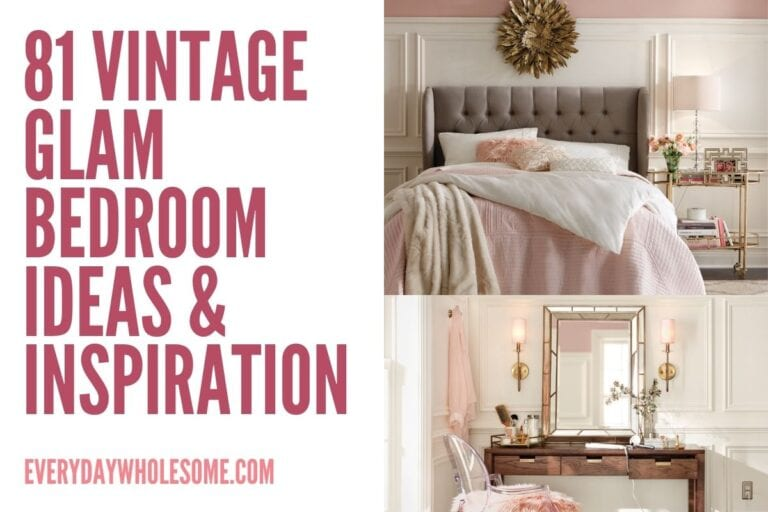 81 Vintage Glam Bedroom Decor Ideas & Inspiration