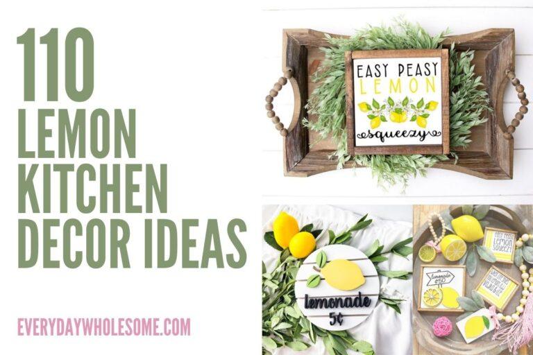 110 Lemon Kitchen Decor Ideas
