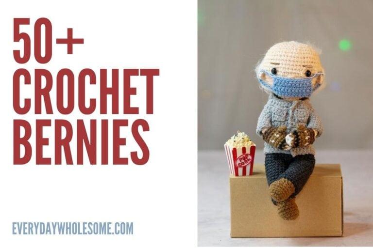 50+ Crochet Bernie's | Bernie Sanders Mittens & Plush Dolls & Gifts