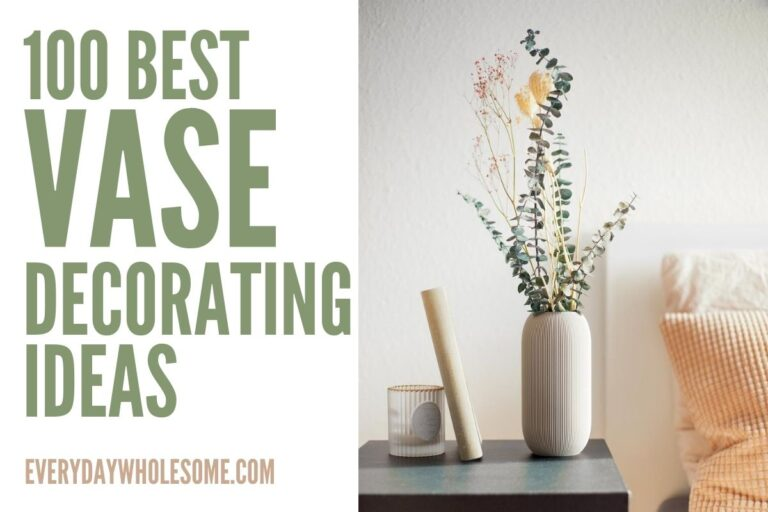 100 Vase Decorating Ideas as Home Decor