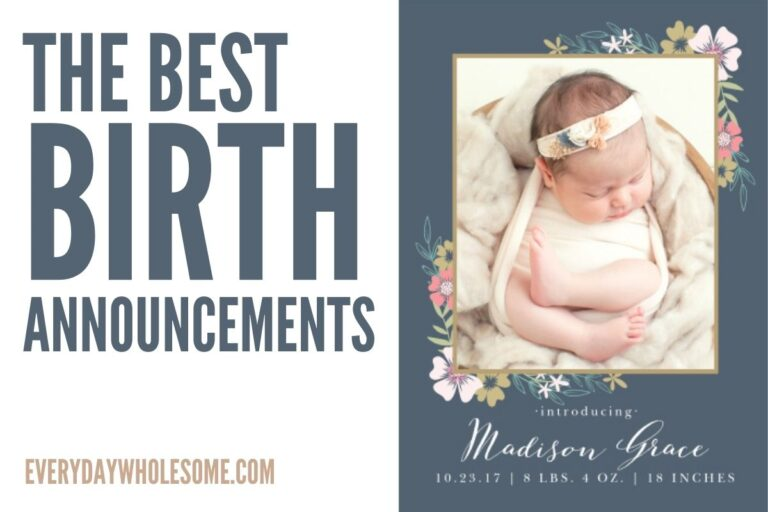 Best Birth Announcements & The Easiest!