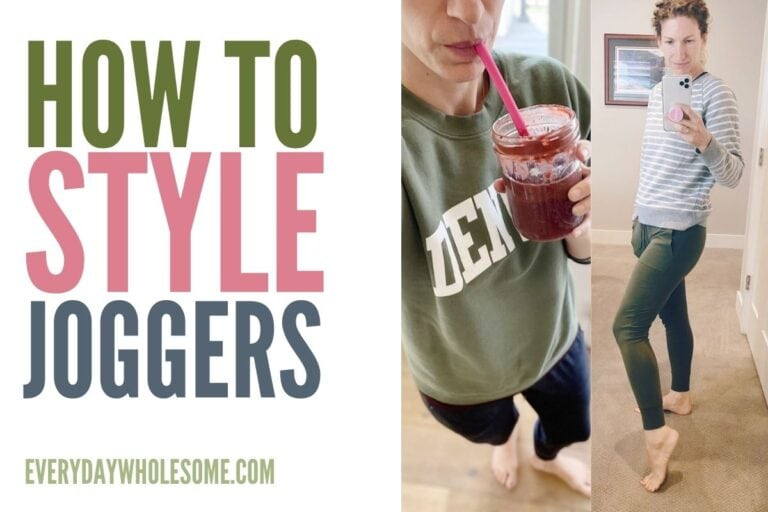 How to Style Joggers & The Best Joggers for only $16!
