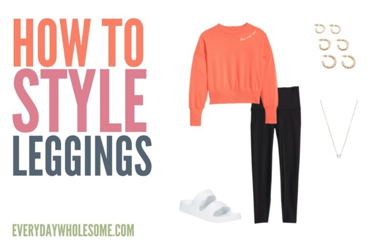 Women's & Girls' Legging Outfits | How to Style Leggings
