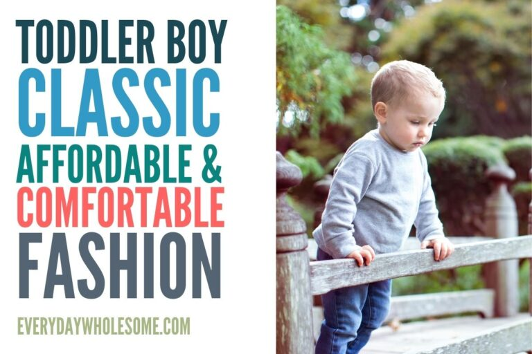 Toddler Boy Fashion – Spring & Summer Capsule Wardrobe | Classic, Comfortable & Affordable
