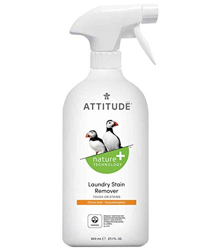 Attitude Nature + little ones Laundry Stain Remover, Unscented