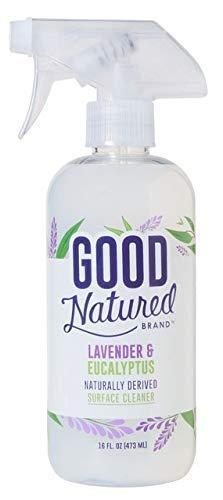 Good Natured Brand Multi-Surface Cleaner Spray, Lavender & Eucalyptus