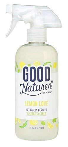 Good Natured Brand Multi-Surface Cleaner Spray, Lemon Love
