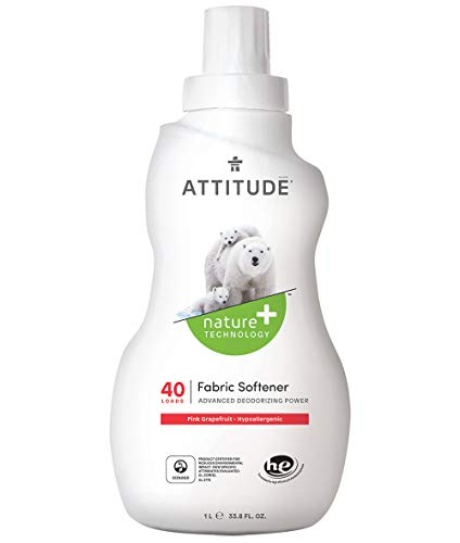 Attitude Fabric Softener, Pink Grapefruit