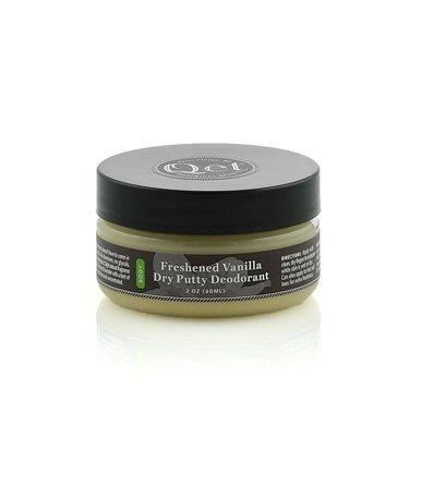 *Freshened Vanilla Dry Putty Deodorant | Natural and Organic Deodorant