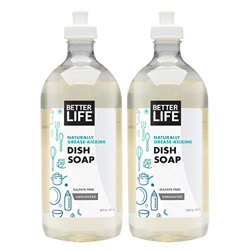 Better Life Natural Dish Soap Unscented
