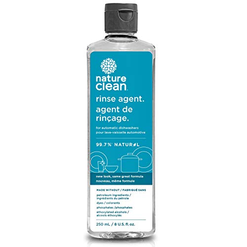 Nature Clean Natural Dishwasher Rinse Aid Liquid, Unscented