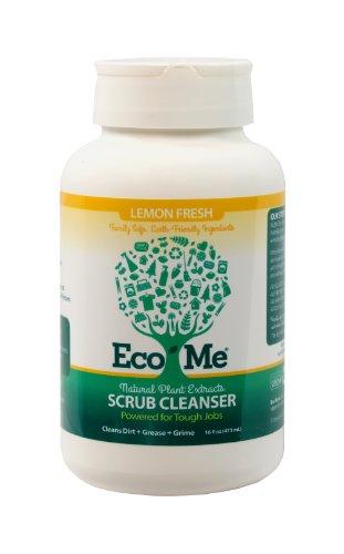 Eco-Me Scrub Cleanser (Surface Cleaner), Lemon Fresh, Emily