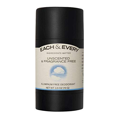 *Each & Every Natural Aluminum-Free Deodorant for Sensitive Skin with Essential Oils