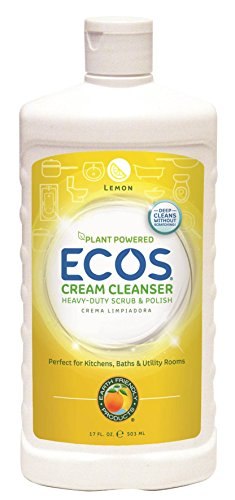 Earth Friendly Products ECOS Cream Cleanser, Lemon