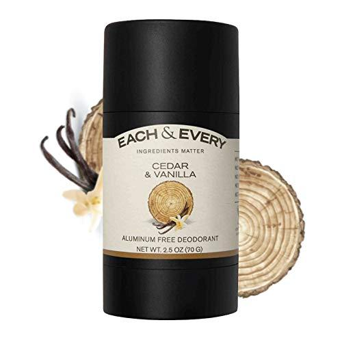 *Each & Every Natural Aluminum-Free Deodorant for Sensitive Skin – Cedar & Vanilla